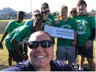 Special Olympians Compete at Dwyer